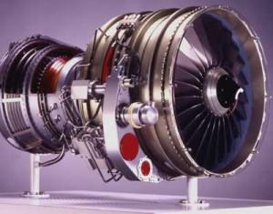 انیمیشن موتور توربوفن و جت