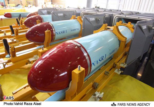 خط تولید موشک کروز نصر یک در سازمان صنایع هوا فضای وزارت دفاع