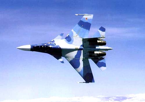 هنرنمایی جنگنده روسی سوخو ۳۰ فلانکر (فیلم)