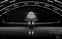 پوستر ۲ – هواپیمای لیرجت ۸۵