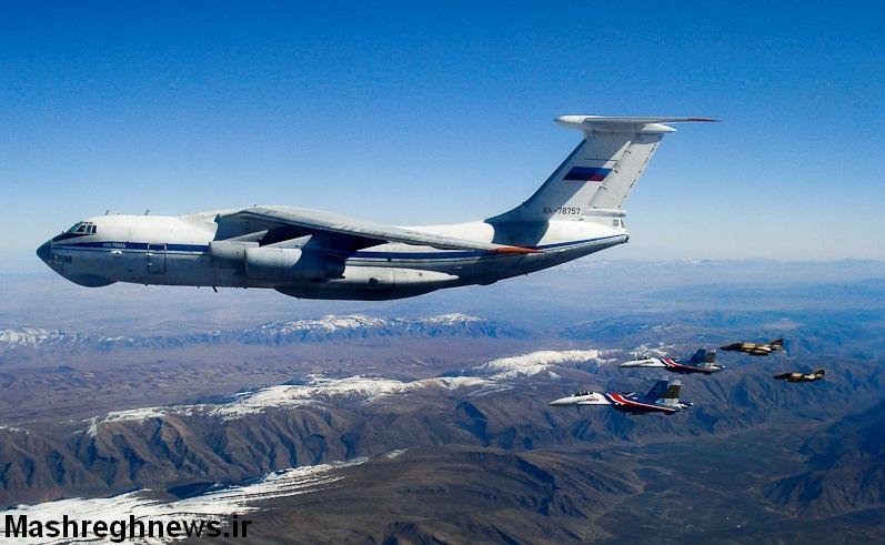 عبور جنگنده های روسی از آسمان ایران (عکس)