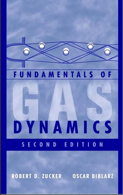 کتاب دینامیک گاز Zucker