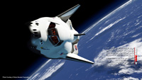 پوستر ۱۱ – فضاپیمای Dream chaser