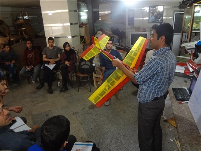 گزارش تصویری از هفته اول دوره آموزشی ساخت هواپیمای مدل