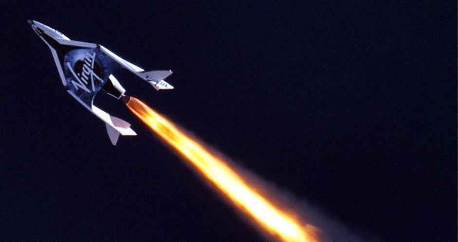 ناکامی دوم در spaceshiptwo  فضاپیما + فیلم و تصاویر