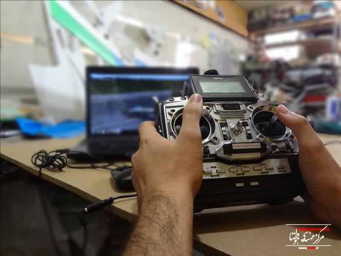گزارش تصویری دوم از دوره آموزشی هواپیمای رادیو کنترل