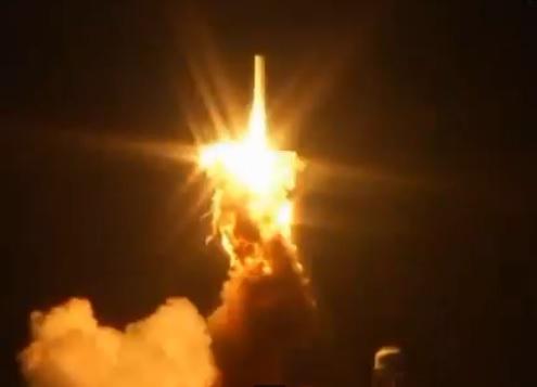 فاجعه فضایی انفجار موشک آنتریز
