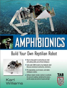 دانلود کتاب Amphibionics Build Your Own Biologically Inspired Robot